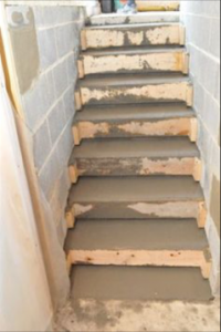 Repaired steps